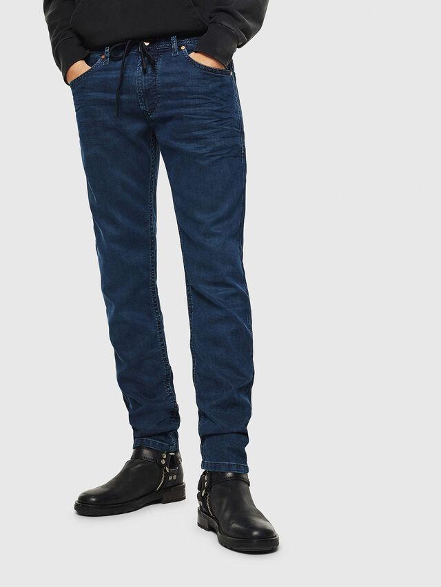 Diesel Thommer JoggJeans 0688J, Bleu moyen - Jeans - Image 1