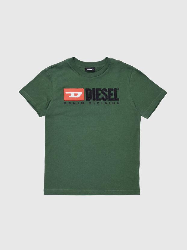 TJUSTDIVISION, Vert Bouteille - T-shirts et Hauts