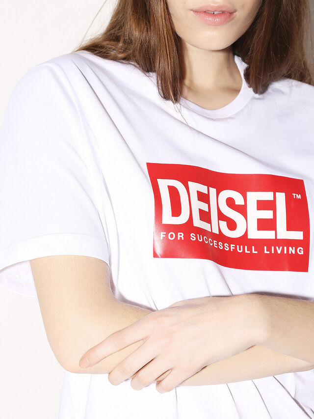 Diesel - DEIS-JUST, Blanc - T-Shirts - Image 8