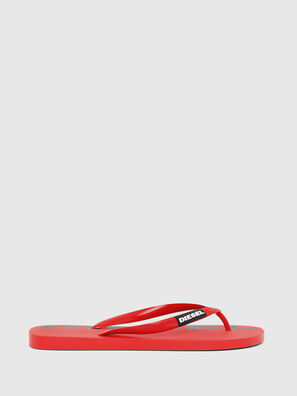 SA-BRIIAN, Rouge - Claquettes