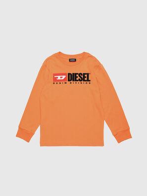 TJUSTDIVISION ML, Orange - T-shirts et Hauts