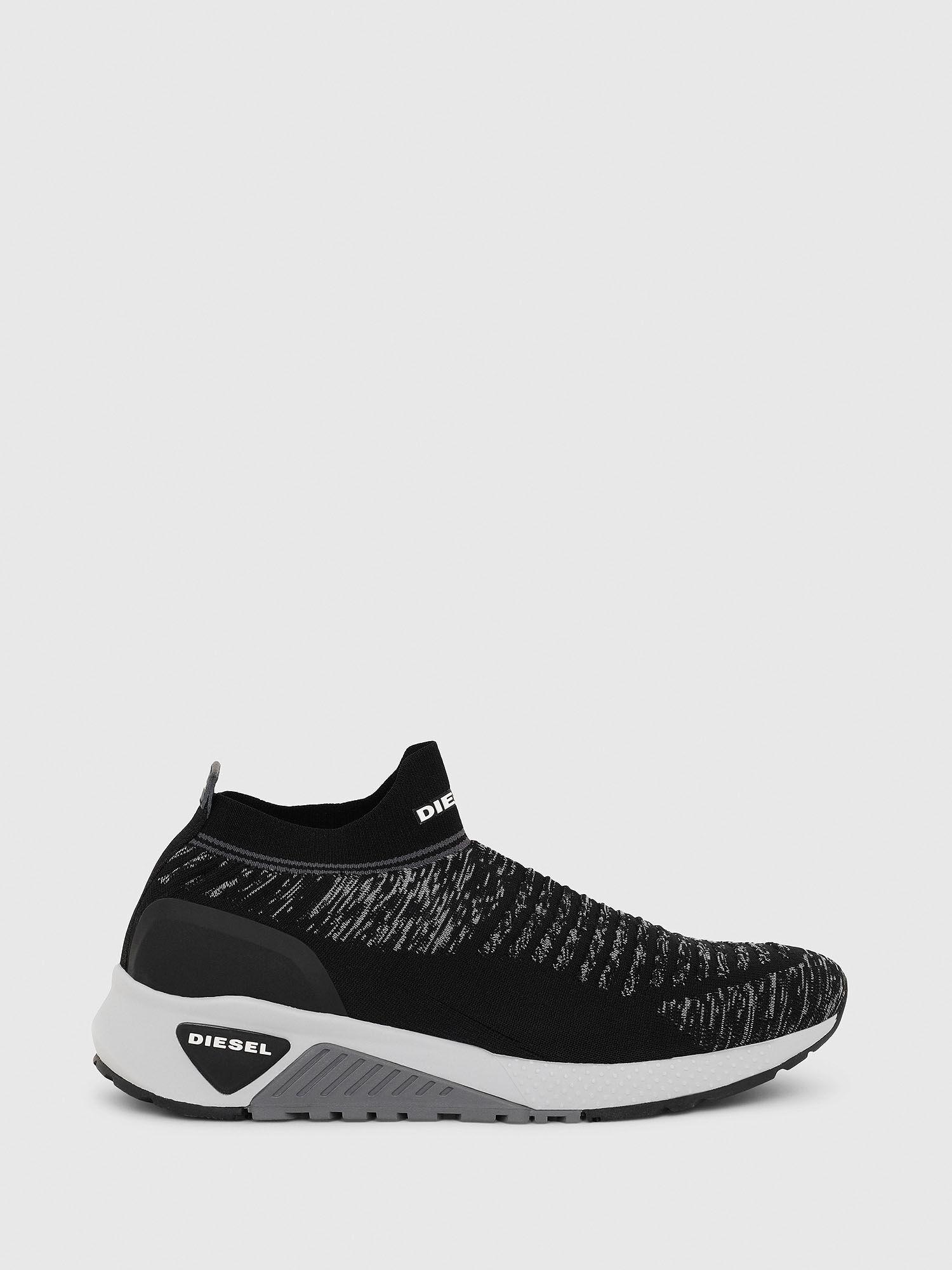 Sneakers sans lacets en maille de polyester