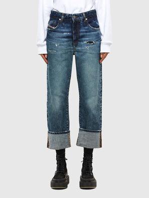 D-Reggy 0079P, Bleu Foncé - Jeans