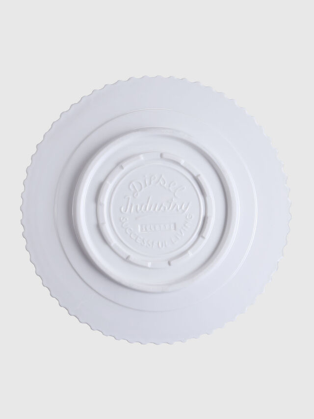 Diesel - 10991 MACHINE COLLEC, Blanc - Assiettes - Image 2