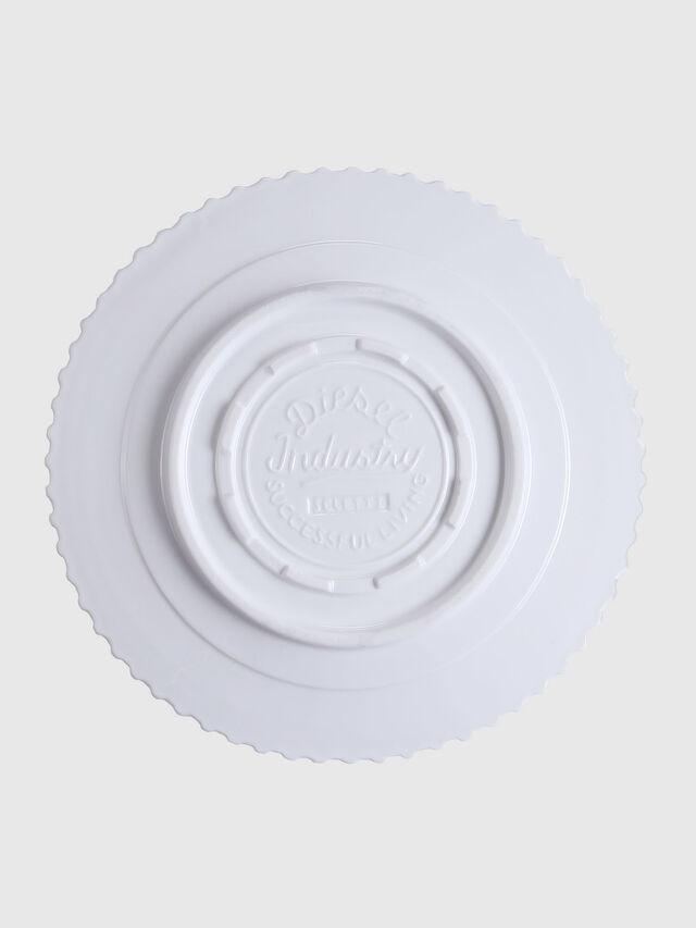 Diesel - 10991 MACHINE COLLEC, Blanc - Assiettes - Image 2