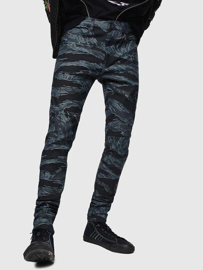 Diesel - D-Amny 0091R, Bleu Foncé - Jeans - Image 6