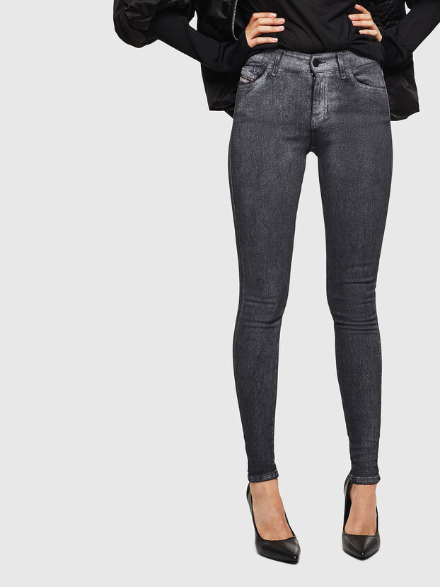 Slandy 069JV, Gris foncé - Jeans