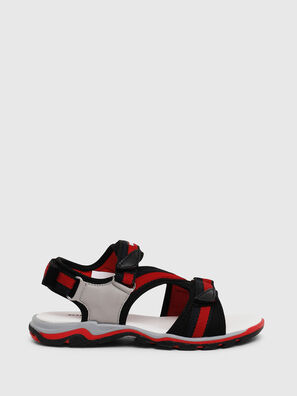 SA 07 STRIPE CH, Gris/Rouge - Footwear
