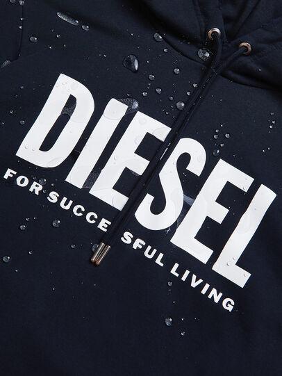 Diesel - S-GIR-HOOD-DIVISION-, Bleu Foncé - Pull Cotton - Image 6