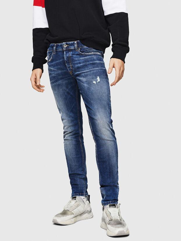 Sleenker 069HQ, Bleu moyen - Jeans