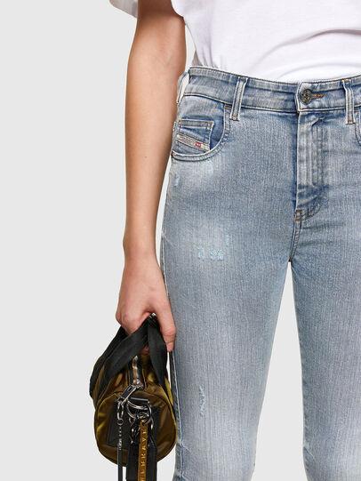 Diesel - Slandy High 009TG, Bleu Clair - Jeans - Image 3