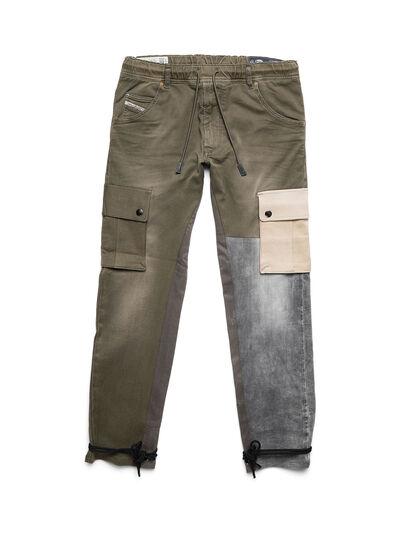 Diesel - D-ARGO-JOGG, Vert Militaire - Pantalons - Image 1