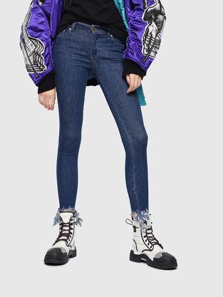 Slandy 088AT, Bleu Foncé - Jeans