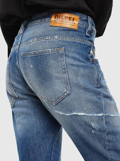 Diesel - Fayza 0097B, Bleu moyen - Jeans - Image 4