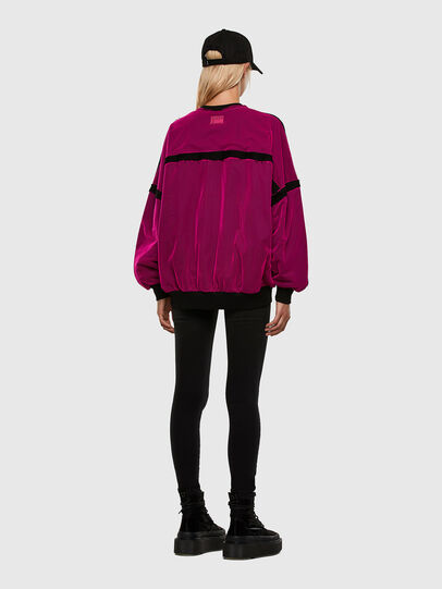 Diesel - F-TRULY, Fuchsia - Pull Cotton - Image 7