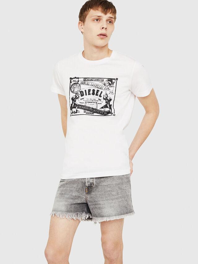 Diesel - T-DIEGO-C3, Blanc - T-Shirts - Image 4