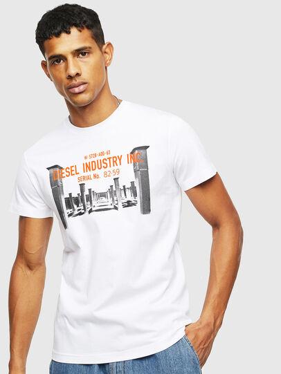 Diesel - T-DIEGO-S13, Blanc - T-Shirts - Image 1