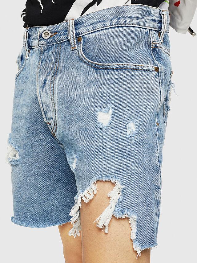 Diesel - D-KIRM, Jean Bleu - Shorts - Image 3