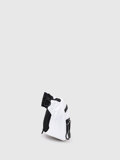 Diesel - F-URBHANITY BUMBAG, Blanc - Sacs ceinture - Image 3