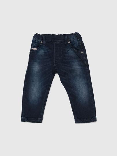 Diesel - KROOLEY-NE-B-N, Bleu Foncé - Jeans - Image 1