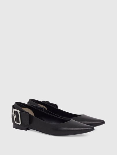 Diesel - D-MOMY BAT, Noir - Chaussures Plates - Image 2