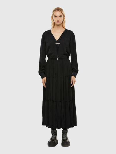 Diesel - D-LINDA, Noir - Robes - Image 1