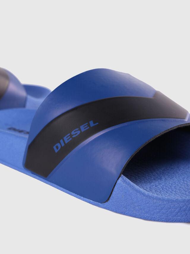 Diesel - SA-MARAL, Bleu - Claquettes - Image 4