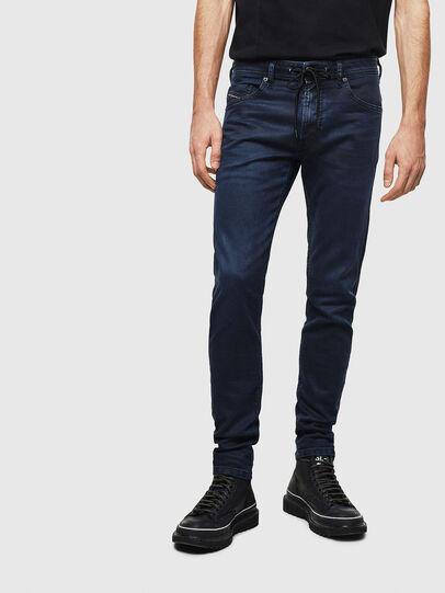 Diesel - Thommer JoggJeans 069MG, Bleu Foncé - Jeans - Image 1