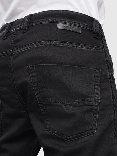Diesel - Krooley JoggJeans 0687Z, Noir/Gris foncé - Jeans - Image 4