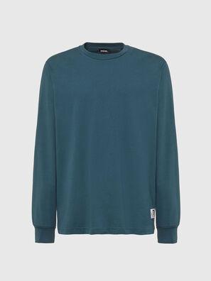 T-JUST-LS-MOHI, Vert d'Eau - T-Shirts
