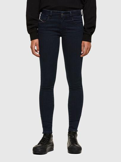 Diesel - Slandy Low 009PV, Bleu Foncé - Jeans - Image 1