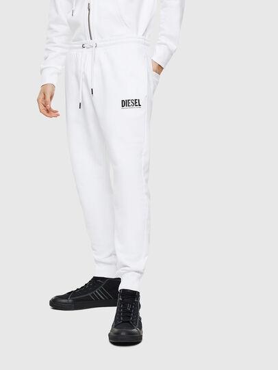 Diesel - P-TARY-LOGO, Blanc - Pantalons - Image 1