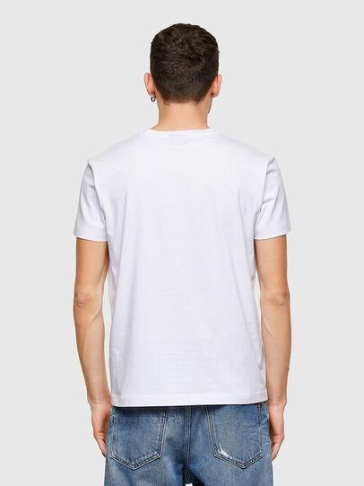 Diesel - T-DIEGOS-E30, Blanc - T-Shirts - Image 2