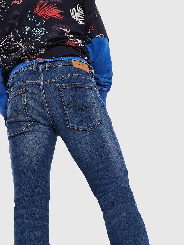 Diesel - Sleenker 069AJ, Bleu moyen - Jeans - Image 3
