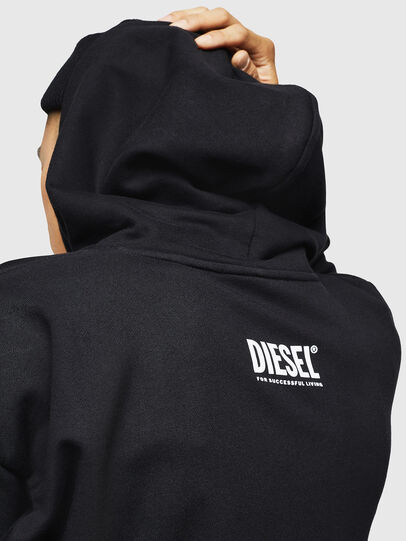 Diesel - S-ALBY-B6, Noir - Pull Cotton - Image 4