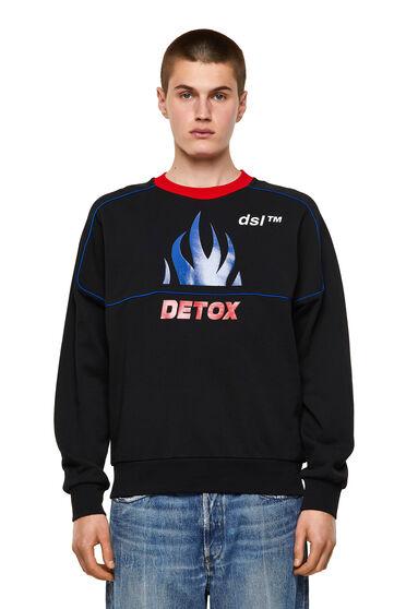 Sweat-shirt avec imprimé Detox