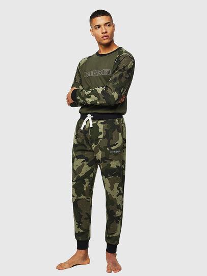Diesel - UMLT-MAX, Vert Camouflage - Pull Cotton - Image 4