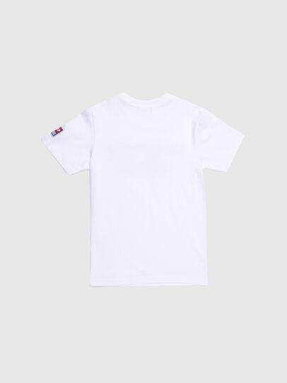 Diesel - TJUSTDIVISION-D, Blanc - T-shirts et Hauts - Image 2