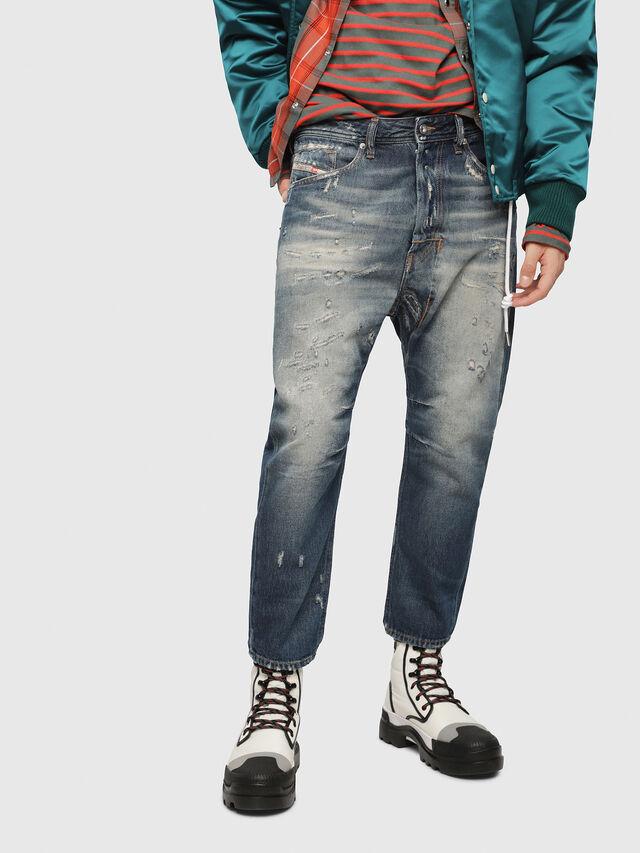 Diesel - Narrot 088AQ, Bleu Foncé - Jeans - Image 1