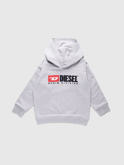 Diesel - SDIVISION OVER, Gris - Pull Cotton - Image 1