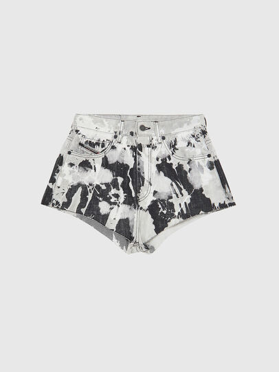 Diesel - DE-HIGWEI, Noir/Blanc - Shorts - Image 1