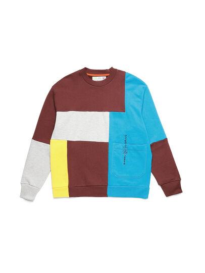Diesel - D-TAGLIA&CUCI, Multicolore - Pull Cotton - Image 1