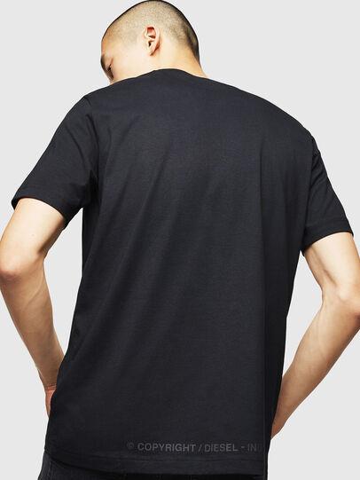 Diesel - T-JUST-B31, Noir - T-Shirts - Image 2