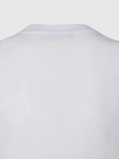 Diesel - T-SILY-E53, Blanc - T-Shirts - Image 4