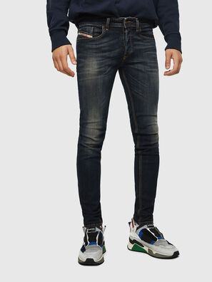 Sleenker 069FX, Bleu Foncé - Jeans