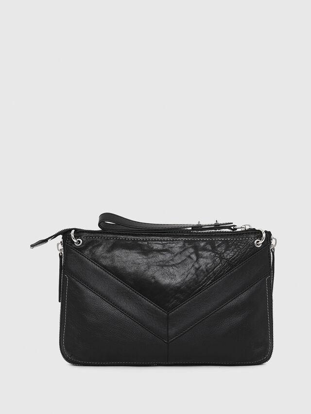 Diesel - LE-LITTSYY, Cuir Noir - Sacs pochette - Image 2