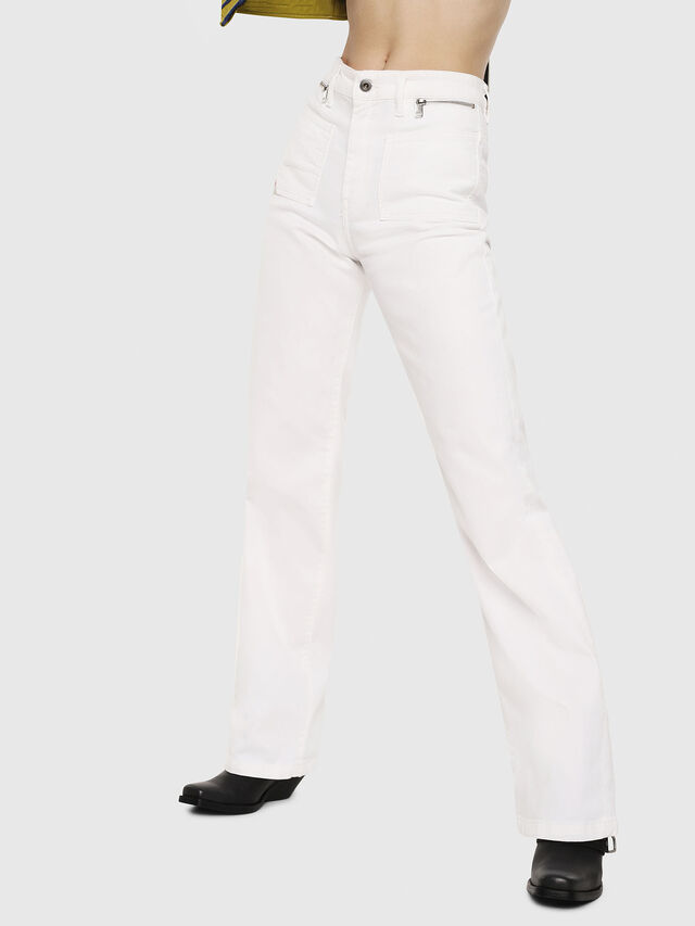 Diesel - D-Pending 069EA, Blanc - Jeans - Image 1
