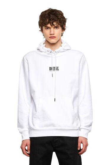 Sweat-shirt à capuche avec petit logo imprimé en 3D