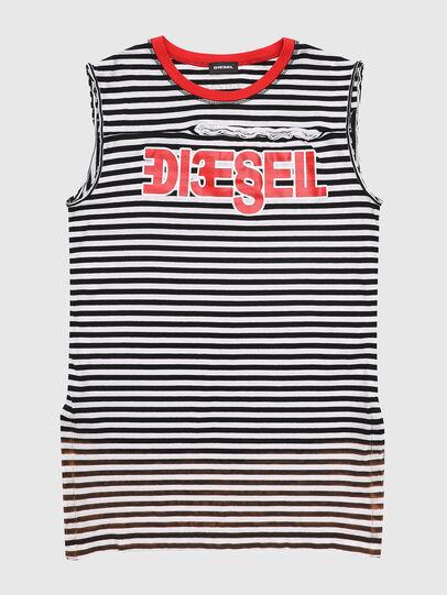 Diesel - TART, Noir/Blanc - T-shirts et Hauts - Image 1
