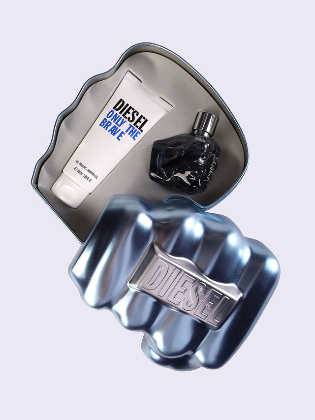 Diesel - ONLY THE BRAVE 50ML METAL GIFT SET, Bleu - Only The Brave - Image 1
